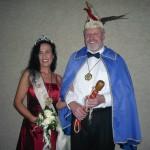 Prinz Friedrich und Prinzessin Stefanie