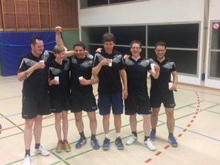 Dritte Herrenmannschaft gewinnt die Meisterschaft in der 2. Kreisklasse