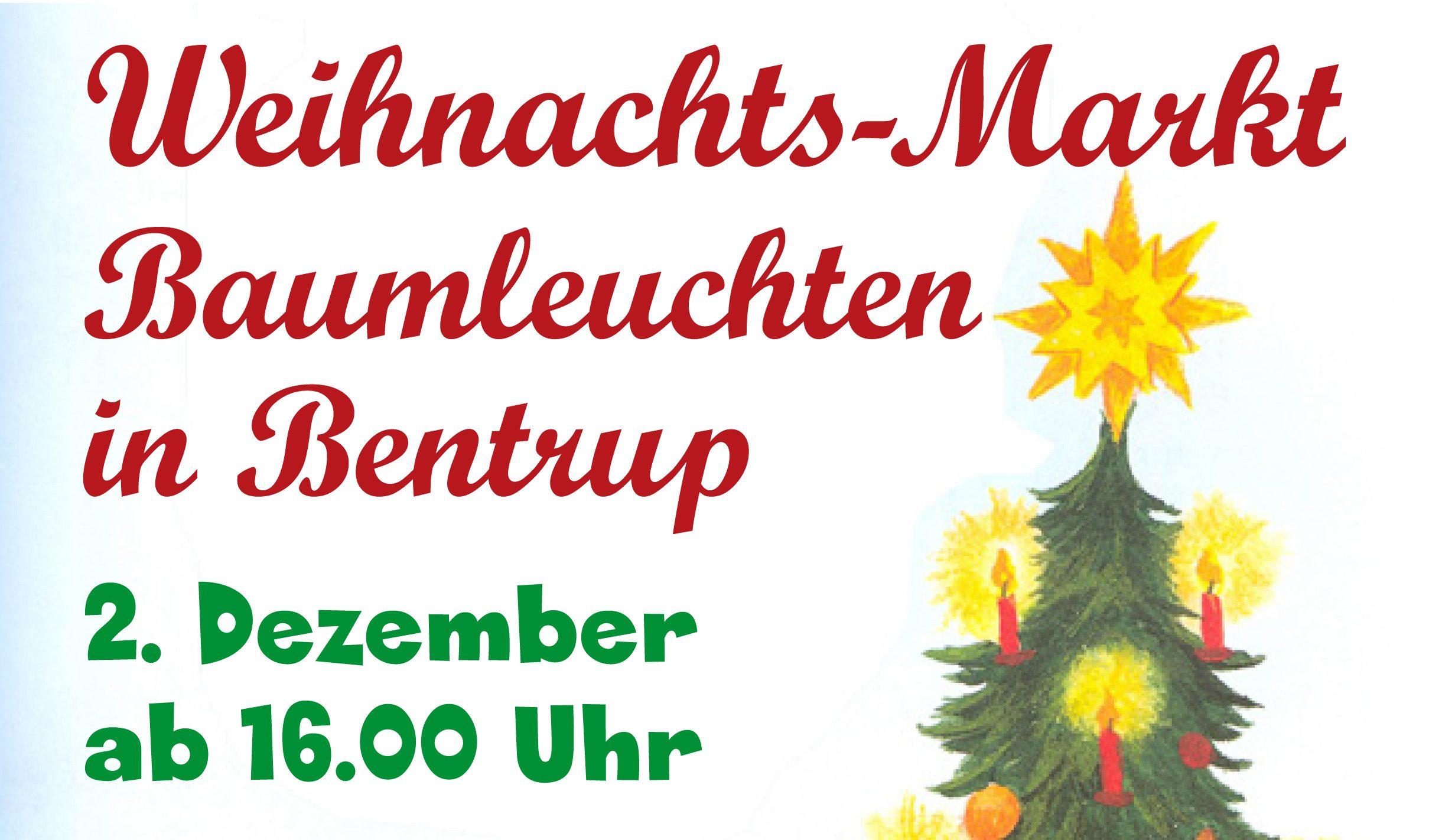 Weihnachts-Markt in Bentrup-Loßbruch