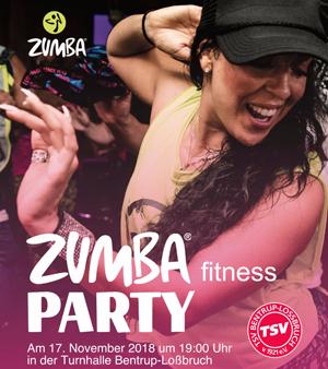 ZUMBA-PARTY am 17. November