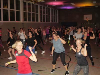 2. Zumba-Fitness-Party im TSV Bentrup-Loßbruch