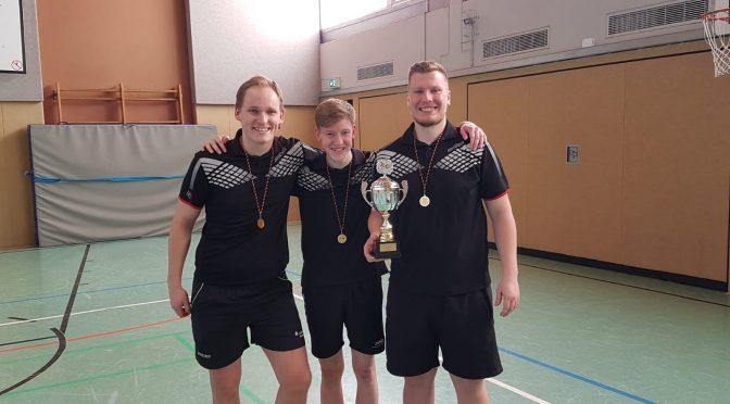 1. Mannschaft gelingt Kreispokalsieg 2019