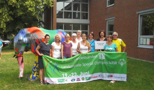 """4. NRW-Landesturnfest  –  """"Turnen ist Vielfalt"""""""
