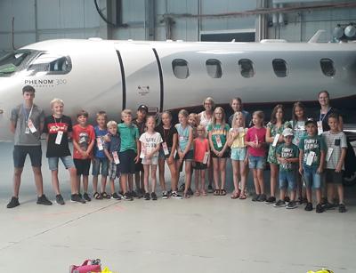 """TSV Kinder """"fliegen um die Welt"""""""