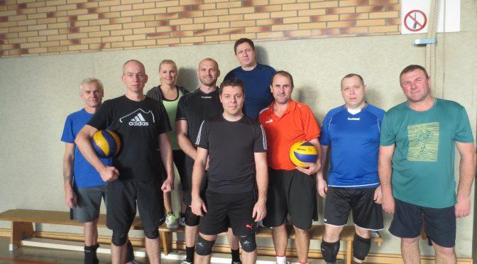 Volleyball am Sonntag