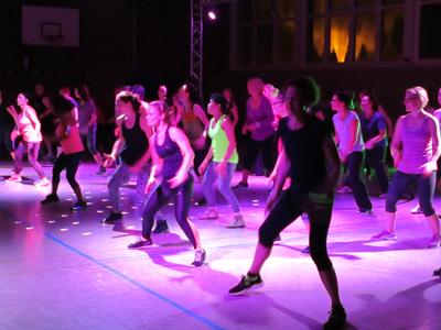 Zumba-fitness-party – ein voller Erfolg!