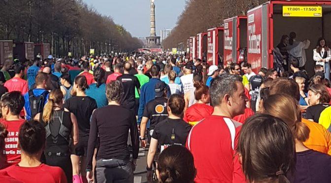 Zum Marathon nach Berlin