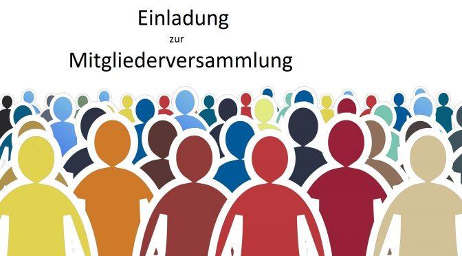 Mitgliederversammlung am 19. August